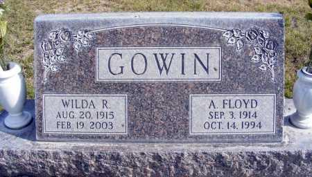 GOWIN, A. FLOYD - Box Butte County, Nebraska   A. FLOYD GOWIN - Nebraska Gravestone Photos