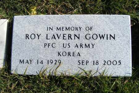 GOWIN, ROY LAVERN - Box Butte County, Nebraska | ROY LAVERN GOWIN - Nebraska Gravestone Photos
