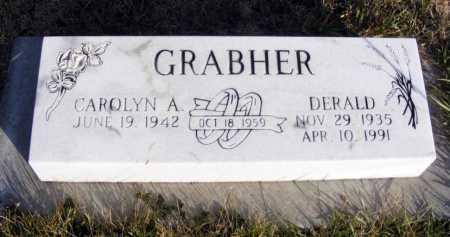 HERMAN GRABHER, CAROLYN A. - Box Butte County, Nebraska | CAROLYN A. HERMAN GRABHER - Nebraska Gravestone Photos