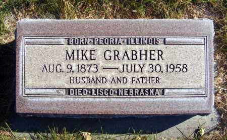 GRABHER, MIKE - Box Butte County, Nebraska | MIKE GRABHER - Nebraska Gravestone Photos