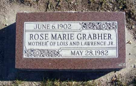 GRABHER, ROSE MARIE - Box Butte County, Nebraska   ROSE MARIE GRABHER - Nebraska Gravestone Photos