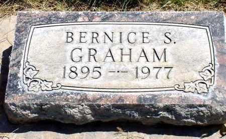 GRAHAM, BERNICE S. - Box Butte County, Nebraska | BERNICE S. GRAHAM - Nebraska Gravestone Photos