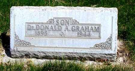 GRAHAM, DR. DONALD A. - Box Butte County, Nebraska | DR. DONALD A. GRAHAM - Nebraska Gravestone Photos