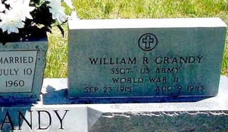 GRANDY, WILLIAM R. - Box Butte County, Nebraska | WILLIAM R. GRANDY - Nebraska Gravestone Photos