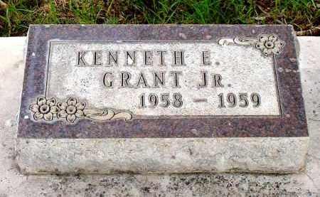 GRANT, KENNETH E. JR. - Box Butte County, Nebraska   KENNETH E. JR. GRANT - Nebraska Gravestone Photos