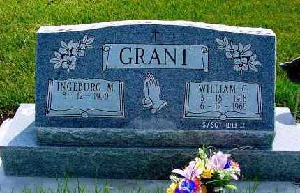 GRANT, INGEBURG M. - Box Butte County, Nebraska | INGEBURG M. GRANT - Nebraska Gravestone Photos