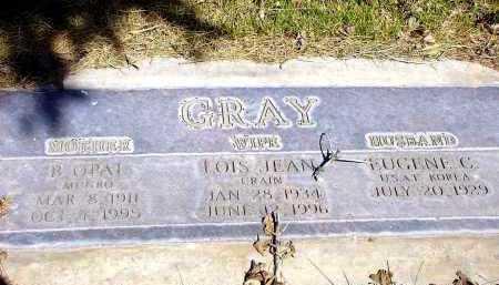 GRAY, LOIS JEAN - Box Butte County, Nebraska   LOIS JEAN GRAY - Nebraska Gravestone Photos
