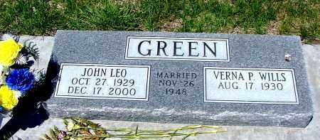 GREEN, VERNA P. - Box Butte County, Nebraska | VERNA P. GREEN - Nebraska Gravestone Photos