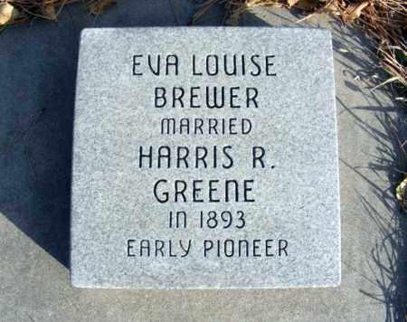 BREWER GREENE, EVA LOUISE - Box Butte County, Nebraska | EVA LOUISE BREWER GREENE - Nebraska Gravestone Photos