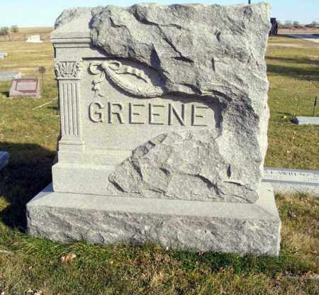 GREENE, FAMILY - Box Butte County, Nebraska   FAMILY GREENE - Nebraska Gravestone Photos