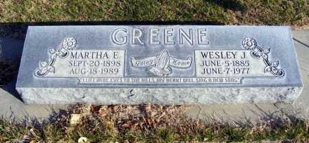 GREENE, WESLEY J. - Box Butte County, Nebraska | WESLEY J. GREENE - Nebraska Gravestone Photos