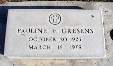 CURRY GRESENS, PAULINE E. - Box Butte County, Nebraska | PAULINE E. CURRY GRESENS - Nebraska Gravestone Photos