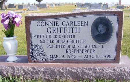 ROSENBERGER GRIFFITH, CONNIE CARLEEN - Box Butte County, Nebraska | CONNIE CARLEEN ROSENBERGER GRIFFITH - Nebraska Gravestone Photos