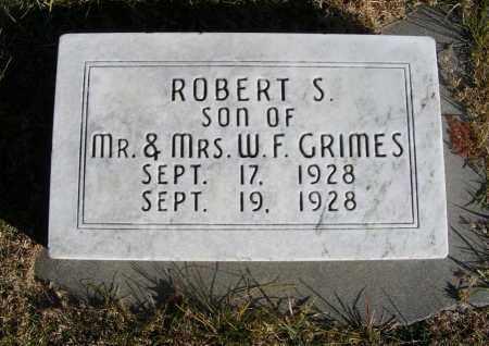 GRIMES, ROBERT S. - Box Butte County, Nebraska   ROBERT S. GRIMES - Nebraska Gravestone Photos