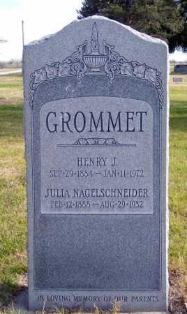 GROMMET, HENRY J. - Box Butte County, Nebraska | HENRY J. GROMMET - Nebraska Gravestone Photos