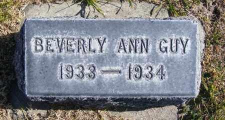 GUY, BEVERLY ANN - Box Butte County, Nebraska | BEVERLY ANN GUY - Nebraska Gravestone Photos