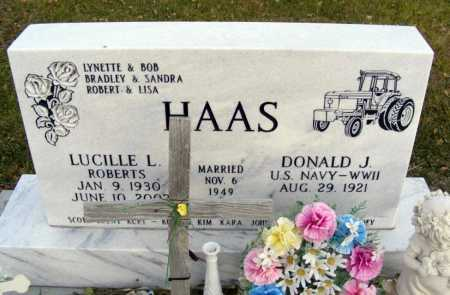 HAAS, DONALD J. - Box Butte County, Nebraska | DONALD J. HAAS - Nebraska Gravestone Photos