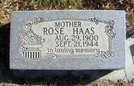 KOVAR HAAS, ROSE - Box Butte County, Nebraska | ROSE KOVAR HAAS - Nebraska Gravestone Photos