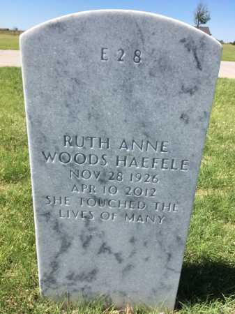 HAEFELE, RUTH  ANNE - Box Butte County, Nebraska | RUTH  ANNE HAEFELE - Nebraska Gravestone Photos