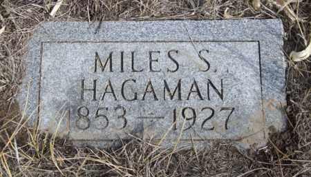 HAGAMAN, MILES S. - Box Butte County, Nebraska | MILES S. HAGAMAN - Nebraska Gravestone Photos