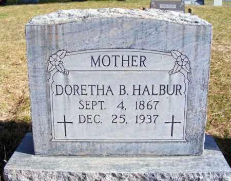 HALBUR, DORETHA B. - Box Butte County, Nebraska | DORETHA B. HALBUR - Nebraska Gravestone Photos