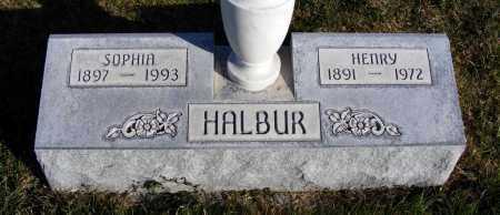 URBANOVSKY HALBUR, SOPHIA - Box Butte County, Nebraska | SOPHIA URBANOVSKY HALBUR - Nebraska Gravestone Photos