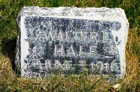 HALE, WALTER E. - Box Butte County, Nebraska | WALTER E. HALE - Nebraska Gravestone Photos