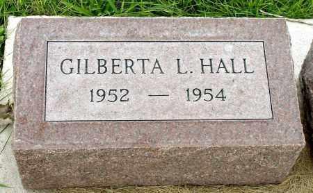 HALL, GILBERTA L. - Box Butte County, Nebraska | GILBERTA L. HALL - Nebraska Gravestone Photos