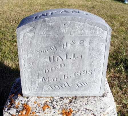 HALL, INFANT SON - Box Butte County, Nebraska | INFANT SON HALL - Nebraska Gravestone Photos