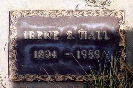 HALL, IRENE S. - Box Butte County, Nebraska | IRENE S. HALL - Nebraska Gravestone Photos