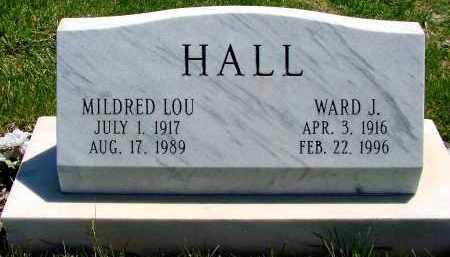HALL, MILDRED LOU - Box Butte County, Nebraska | MILDRED LOU HALL - Nebraska Gravestone Photos