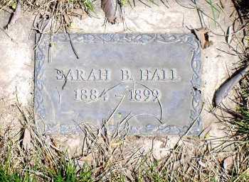 HALL, SARAH B. - Box Butte County, Nebraska | SARAH B. HALL - Nebraska Gravestone Photos