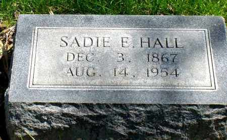 HALL, SADIE E. - Box Butte County, Nebraska | SADIE E. HALL - Nebraska Gravestone Photos