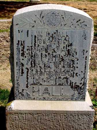HALL, CATHERINE D. - Box Butte County, Nebraska | CATHERINE D. HALL - Nebraska Gravestone Photos