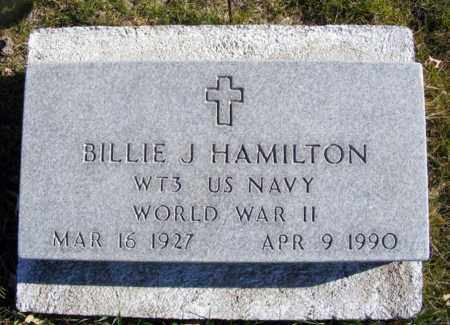 HAMILTON, BILLIE J. - Box Butte County, Nebraska | BILLIE J. HAMILTON - Nebraska Gravestone Photos