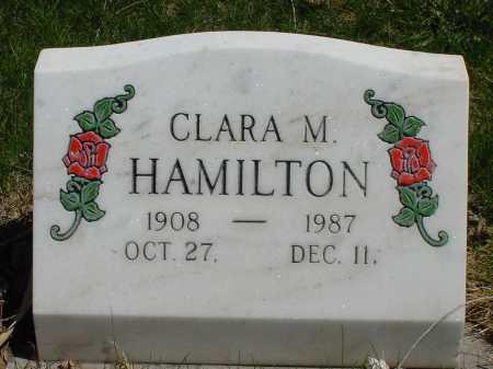 HAMILTON, CLARA M. - Box Butte County, Nebraska | CLARA M. HAMILTON - Nebraska Gravestone Photos