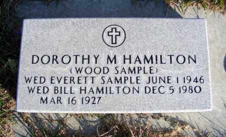 HAMILTON, DOROTHY M. - Box Butte County, Nebraska   DOROTHY M. HAMILTON - Nebraska Gravestone Photos