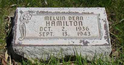 HAMILTON, MELVIN DEAN - Box Butte County, Nebraska | MELVIN DEAN HAMILTON - Nebraska Gravestone Photos