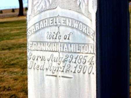 HAMILTON, SARAH ELLEN - Box Butte County, Nebraska | SARAH ELLEN HAMILTON - Nebraska Gravestone Photos