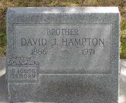 HAMPTON, DAVID J. - Box Butte County, Nebraska | DAVID J. HAMPTON - Nebraska Gravestone Photos