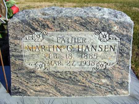 HANSEN, MARTIN C. - Box Butte County, Nebraska | MARTIN C. HANSEN - Nebraska Gravestone Photos