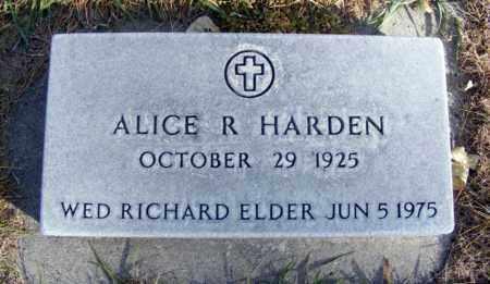 HARDEN, ALICE R. - Box Butte County, Nebraska   ALICE R. HARDEN - Nebraska Gravestone Photos