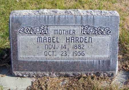 HARDEN, MABEL - Box Butte County, Nebraska | MABEL HARDEN - Nebraska Gravestone Photos