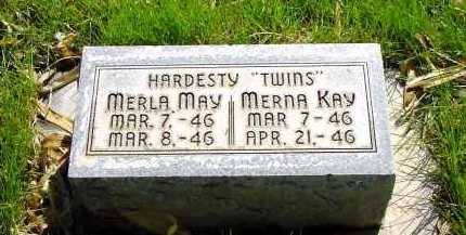 HARDESTY, MERLA MAY - Box Butte County, Nebraska | MERLA MAY HARDESTY - Nebraska Gravestone Photos