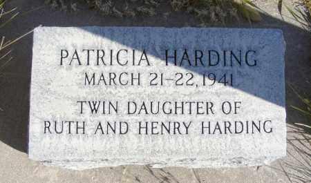 HARDING, PATRICIA - Box Butte County, Nebraska   PATRICIA HARDING - Nebraska Gravestone Photos