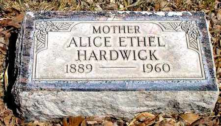 HARDWICK, ALICE ETHEL - Box Butte County, Nebraska | ALICE ETHEL HARDWICK - Nebraska Gravestone Photos
