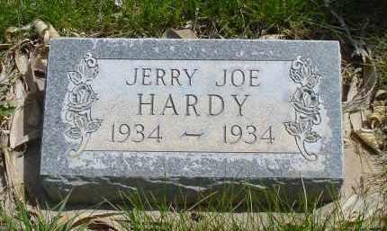 HARDY, JERRY JOE - Box Butte County, Nebraska | JERRY JOE HARDY - Nebraska Gravestone Photos