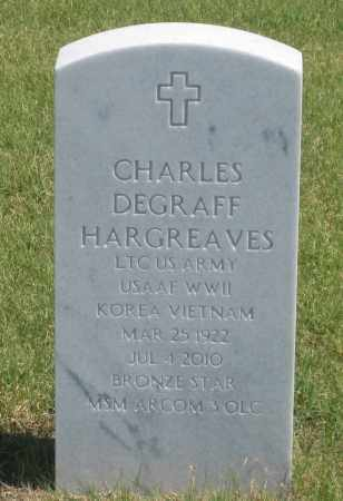 HARGREAVES, CHARLES  DEGRAFF - Box Butte County, Nebraska | CHARLES  DEGRAFF HARGREAVES - Nebraska Gravestone Photos