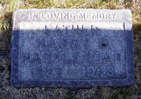 HARKLEROAD, HARRY E. - Box Butte County, Nebraska   HARRY E. HARKLEROAD - Nebraska Gravestone Photos