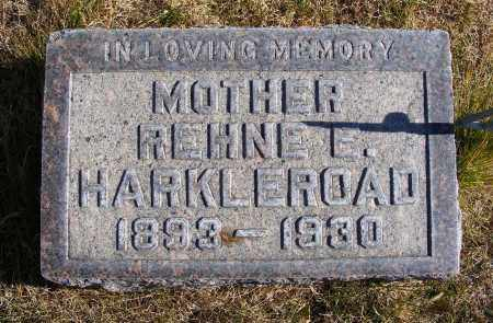 HEDLUND HARKLEROAD, REHNE E. - Box Butte County, Nebraska | REHNE E. HEDLUND HARKLEROAD - Nebraska Gravestone Photos